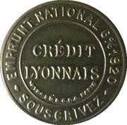 25 Centimes (Crédit lyonnais) – obverse