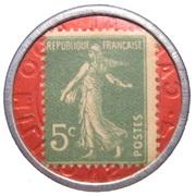 5 Centimes (Société Générale) – reverse