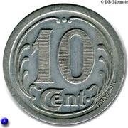 10 Centimes (Sézanne) – reverse