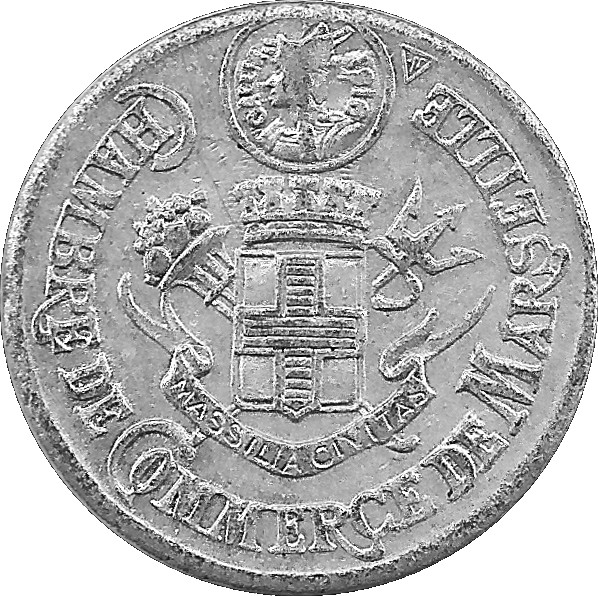 5 centimes marseille french cities numista for Chambre de commerce de marseille archives