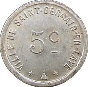 5 Centimes (Saint-Germain-en-Laye) – obverse