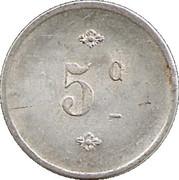 5 Centimes (Saint-Germain-en-Laye) – reverse