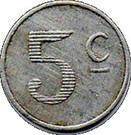 5 Centimes (Lot) – reverse