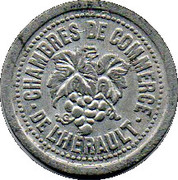 10 Centimes (Herault) – obverse