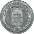 5 Centimes (Chatellerault) – obverse
