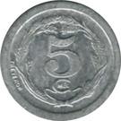 5 Centimes (Chatellerault) – reverse