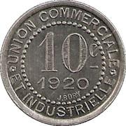10 Centimes (Charlieu) – reverse