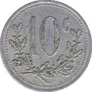10 Centimes (Hirson) – reverse