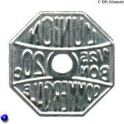 20 Centimes (Meaux) – obverse