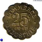 25 Centimes (Chatou) – reverse