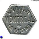 25 Centimes (Montréal) – obverse