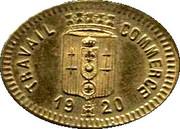 25 Centimes (Calaisis) – obverse