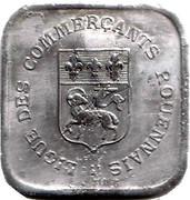 25 Centimes (Rouen) – obverse