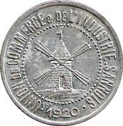 25 Centimes (Sannois) – obverse