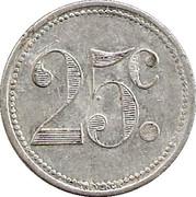 25 Centimes (Sannois) – reverse