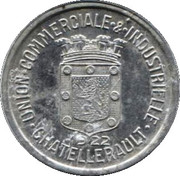 25 Centimes (Chatellerault) – obverse