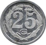 25 Centimes (Chatellerault) – reverse