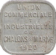 5 Centimes (Chalons sur Marne) – obverse