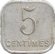 5 Centimes (Chalons sur Marne) – reverse
