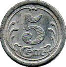 5 Centimes (Soulac sur Mer) – reverse