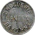 10 Centimes (Bayonne) – obverse