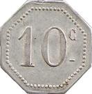10 Centimes (Oyonnax) – reverse