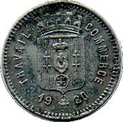 10 Centimes (Calaisis) – obverse