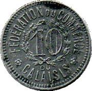 10 Centimes (Calaisis) – reverse