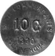 10 Centimes (Dunkerque) – obverse