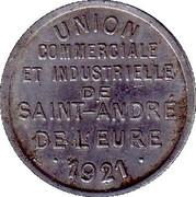 10 Centimes (Saint André de l'Eure) – obverse