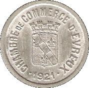 10 Centimes (Evreux) – obverse