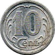 10 Centimes (Landes) – reverse