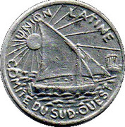 10 Centimes (Toulouse) – obverse