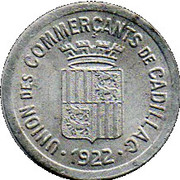 10 Centimes (Cadillac) – obverse