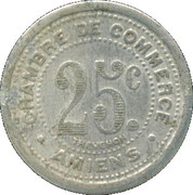 25 Centimes (Amiens) – reverse