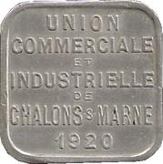 25 Centimes (Chalons sur Marne) – obverse