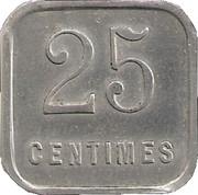 25 Centimes (Chalons sur Marne) – reverse