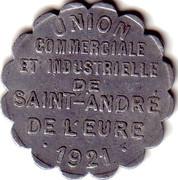 25 Centimes (Saint André de l'Eure) – obverse