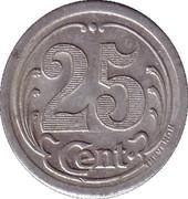 25 Centimes (Ham) – reverse