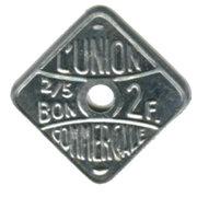 2 Francs (Meaux) – reverse