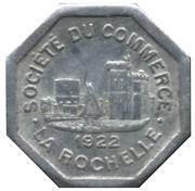 25 Centimes (La Rochelle) – obverse