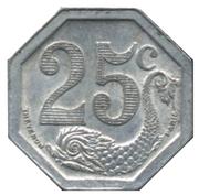 25 Centimes (La Rochelle) – reverse