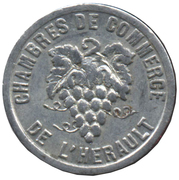 5 Centimes (Hérault) – obverse