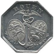 10 Centimes (Rouen) – obverse