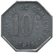 10 Centimes (Rouen) – reverse