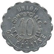 10 Centimes (Falaise) – reverse