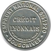 10 Centimes (Crédit lyonnais) – obverse