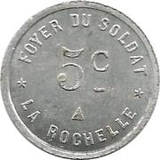 5 Centimes (La Rochelle) – obverse