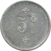 5 Centimes (La Rochelle) – reverse