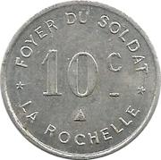 10 Centimes (La Rochelle) -  obverse